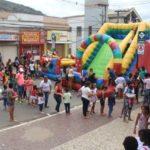 Manhuaçu-Rua de lazer atrai centenas de crianças.
