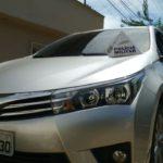 Veículo roubado é recuperado pela Policia Militar e conductor preso por posse illegal de arma de fogo.