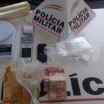 Acusado de tráfico de drogas é preso em Carangola.