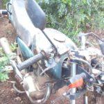 Policia Militar de Carangola recupera moto produto de furto.