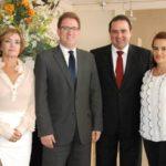 Dirigentes da OAB Manhuaçu recebem visita do tesoureiro da OAB/MG.