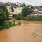 Manhuaçu-Defesa Civil atenta com elevação do nível do rio.