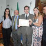Presidente da OAB Manhuaçu recebe título de Cidadão Honorário de Martins Soares.