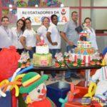 Festa de Natal traz alegria para crianças da Fundação Cristiano Varella.
