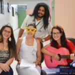 Primeira edição do Projeto Despertando Sorrisos de 2017 leva alegria aos pacientes do Hospital com ritmo de carnaval.