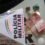 Policia Militar prende autor de tráfico de drogas em Carangola.