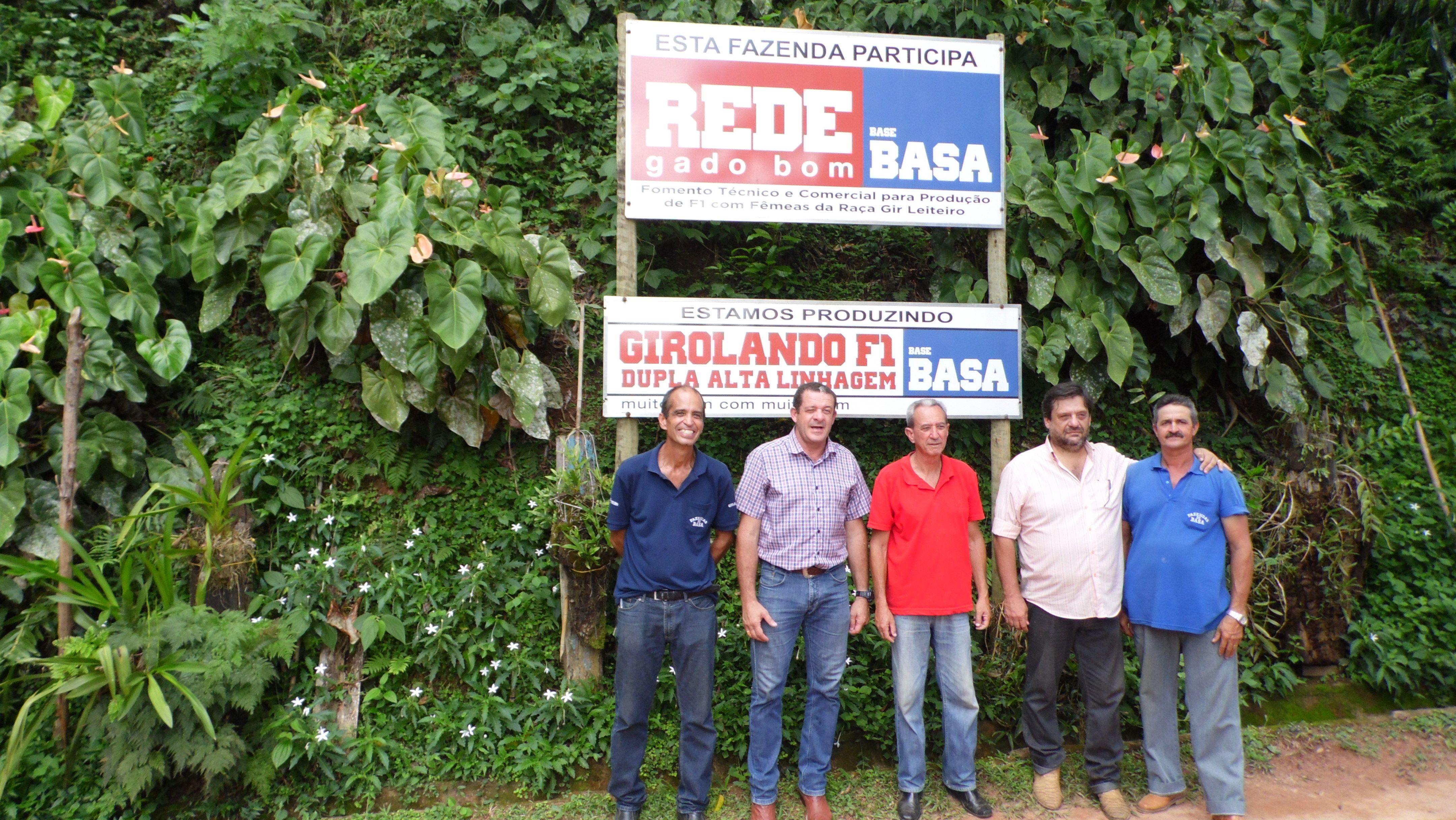 Melhoramento genético das Fazendas do BASA é alternativa econômica para o município de Carangola