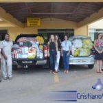 Casa de Apoio da Fundação Cristiano Varella recebe doação da Calourosa 2017 do UNIFAMINAS.