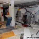 Bandidos explodem caixas eletrônicos em Divino.