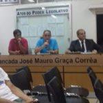 CONSEP de Carangola apresenta projetos na Câmara Municipal.