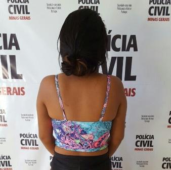 Em Cataguases: PCMG prende mulher suspeita de homicídio.