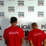 Em Lima Duarte: PCMG apresenta autores de roubo à taxista.
