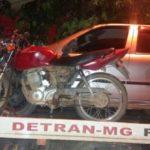 PM prende autor de furto de motocicleta minutos após ato criminoso e recupera o veículo.