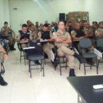 75ª CIA PM: Policiais Militares da Subárea da 75ª Cia passam por treinamento em Carangola para assumirem a lavratura do TCO