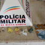 75ª CIA EM AÇÃO: PM de Carangola prende cidadão por tráfico de drogas.