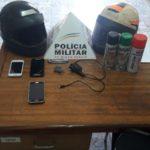 PM de Divino durante operação, prende suspeito de roubo de motocicleta em Carangola.