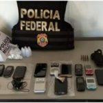 Policias Federal e Militar em operação conjunta efetuam prisões e apreensões de drogas e munições.