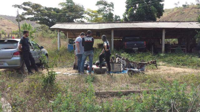 Operação conjunta é deflagrada em Pirapetinga e Estrela Dalva.