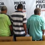 Indiciados por tentativa de homicídio são presos pela PCMG em Muriaé.