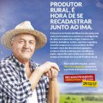 IMA já faz o recadastramento obrigatório de produtores rurais em MG. Medida busca evitar fraudes.