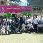 Outubro Rosa - OAB Manhuaçu realiza ações de prevenção ao câncer de mama e uterino.