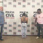 PCMG apresenta suspeita de ter assassinado policial civil em Juiz de Fora.