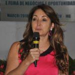 Manhuaçu - Cici Magalhães participa do Dia das Mulheres produtoras de café.