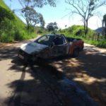 PM de Carangola em conjunto com a PM de Pedra Dourada e Policia Civil de Tombos, prendem autor de roubo de veículo após mais de 24 horas de buscas.