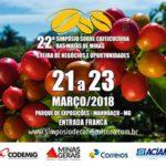 22º Simpósio sobre Cafeicultura das Matas de Minas.