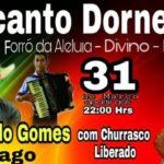 Forró da Aleluia - Recanto Dornelas - Divino - MG.