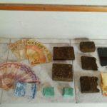 PM de Carangola apreende grande quantidade de drogas e prende dois homens por tráfico.