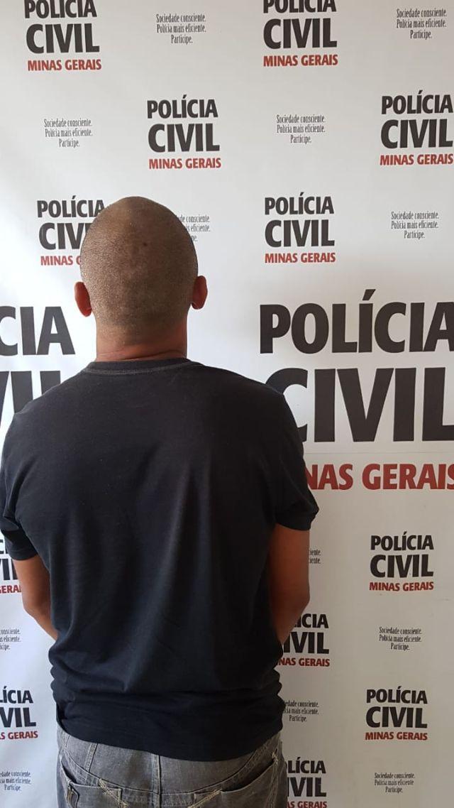 PCMG prende suspeito de agressão e tentativa de homicídio em Cataguases.