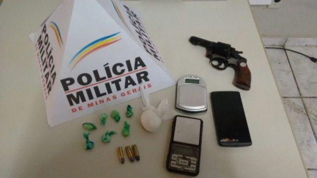 PM de Carangola prende 3 indivíduos por Tráfico,porte ilegal de arma, corrupção de menores,estupro e ameaça.