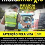 Maio amarelo: Policia Militar lança campanha de conscientização para segurança no trânsito, ações serão intensificadas na Região.