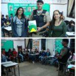 CONSEP e Policia Militar de Fervedouro realizam palestra em escola no Distrito de Bom Jesus do Madeira.