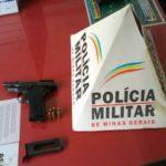 Agência dos Correios de Orizânia é assaltada e PM prende homem armado.