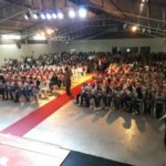75ª Cia PM: PROERD é sucesso total e forma cerca de 280 alunos no Carangola Tênis Clube nesta quarta feira(20).