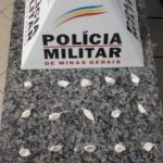 PM de Fervedouro prende homem suspeito de comercializar drogas no Distrito de São Pedro do Glória.