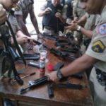 75ª Cia.PM de Carangola realiza curso de  credenciamento de armas portáteis de alta energia para Policiais Militares.