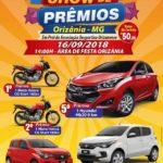 Show de Prêmios - Orizânia - MG.