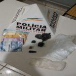 PM prende mais um traficante de drogas em Espera Feliz (MG).