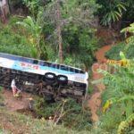 Sobe para quatro número de mortos no acidente com o ônibus da 1001.