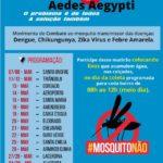 Mutirão contra mosquito transmissor de doenças.