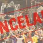 Carangola, Divino e Espera Feliz cancelam Carnaval 2019.
