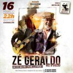 ZÉ GERALDO, um dos grandes nmes da MPB retorna a Carangola onde tudo começou!!!