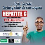 ROTARY de Carangola realiza teste gratuito de Hepatite.