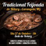 Tradicional feijoada do Rotary acontece neste domingo.