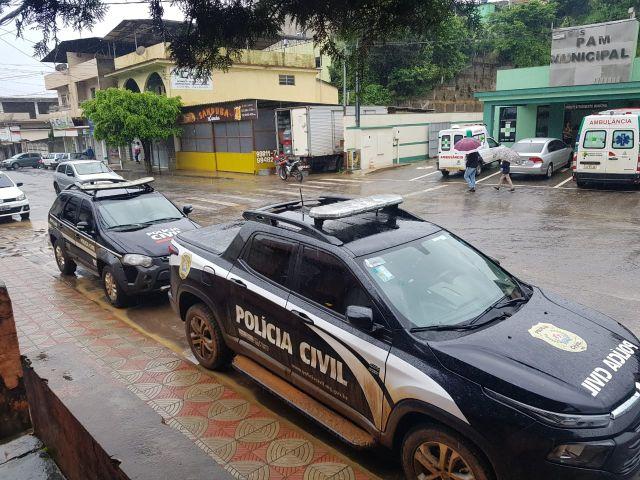 Polícia Civil prende suspeito de homicídio em Divino.