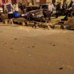 Acidente  na Rua do Barracão.