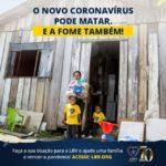 Campanha emergencial da LBV entregará mais de 15 mil cobertores a famílias mais vulneráveis.
